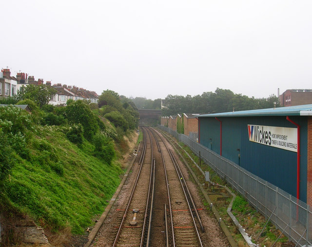 West Coastway Line from Holland Bridge