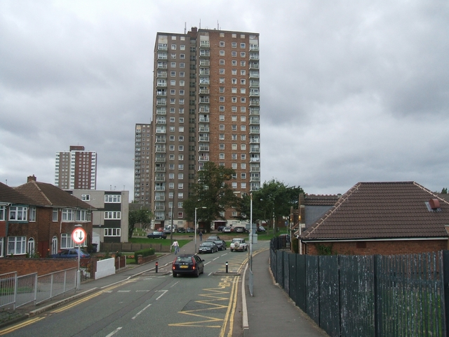 Tower Blocks, Wednesfield