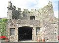 SH4762 : The Execution Tower, Caernarfon Jail by Eric Jones