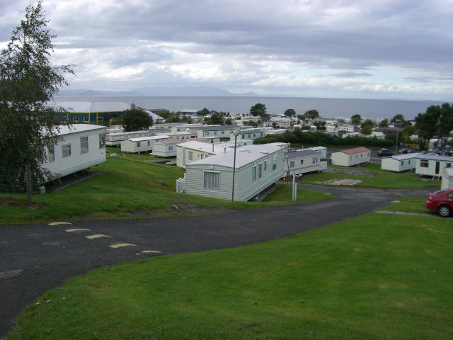 Caravans at Craig Tara holiday park, nr. Ayr