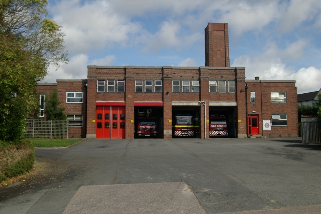 Exeter fire station