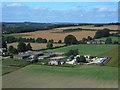SU0128 : East Farm, Fovant, Wiltshire by michael ely