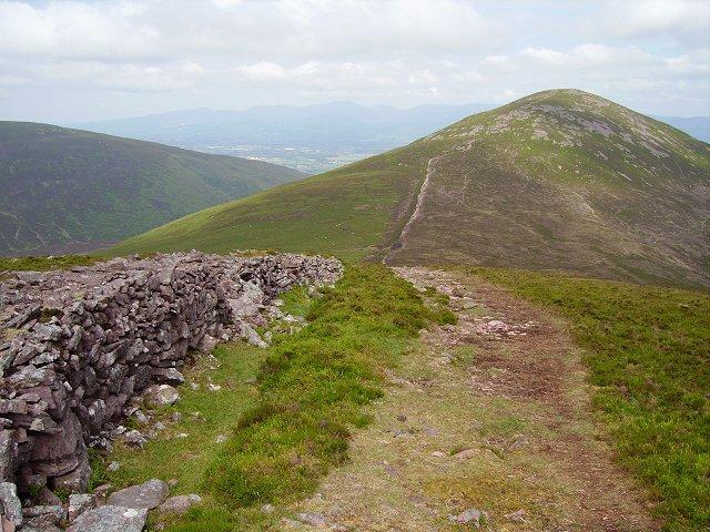 Northwest ridge, Knockmealdown