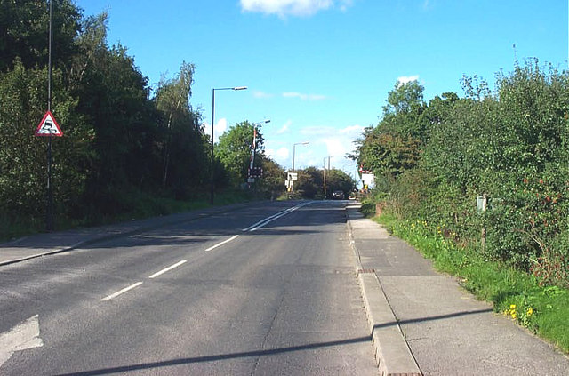 Level Crossing when leaving Askern on the A19 travelling northwards.
