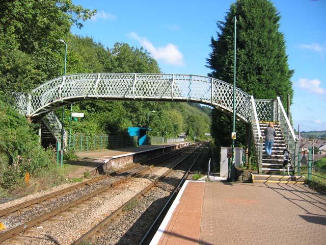 Llanbradach Station