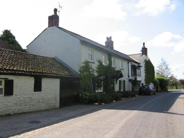Farnley Grange farmhouse