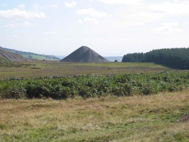 Spoil Heaps near Llanbradach