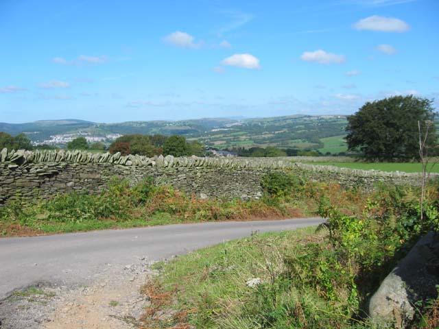Country Road near Ystrad Mynach