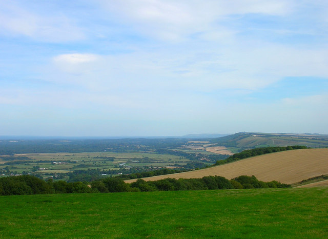 View from Bignor Hill