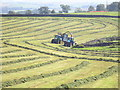 SD7370 : Silage teamwork by John Illingworth