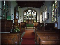 NY7863 : Interior of St.Cuthberts Church Beltingham by Bill Cresswell