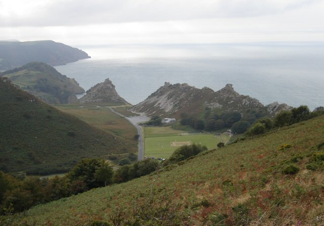 View of The Valley Of Rocks from Hollerday Hill