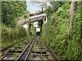 SS7249 : Lynton-Lynmouth Cliff Railway by Janine Forbes