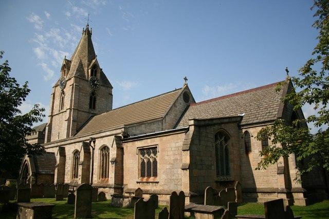 St.Edmund's church, Mansfield Woodhouse