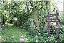 SK7068 : Kirton Wood Nature Reserve by Richard Croft