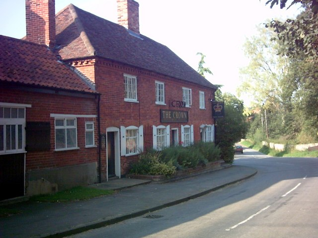 The Crown Public House, Great Glemham