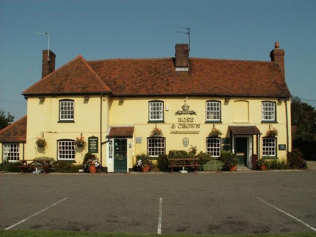 'Rose & Crown' inn, Great Horkesley, Essex