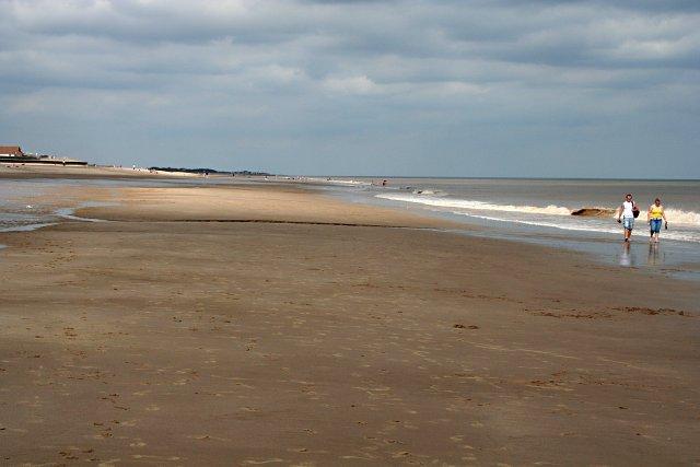 Shoreline at Ingoldmells