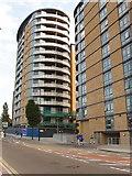 TQ2081 : New flats, Victoria Road, North Acton by David Hawgood
