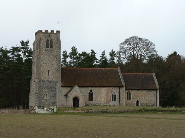 All Saints church West Harling