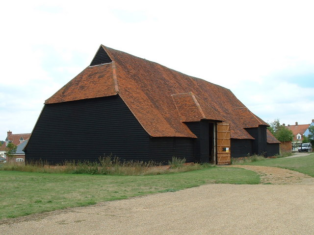 Coggeshall Grange Barn by Keith Evans