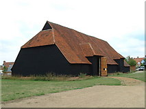 TL8422 : Coggeshall Grange Barn by Keith Evans