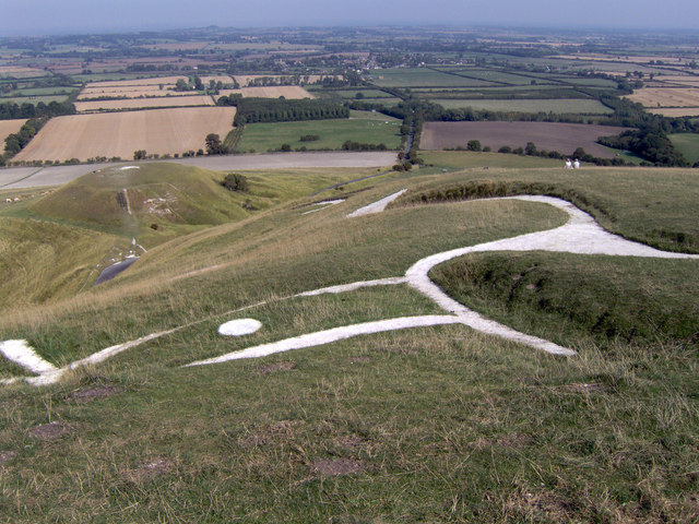 Uffington White Horse and Dragon Hill