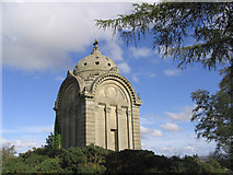 NT6126 : The Monteath Mausoleum on Gersit Law by Walter Baxter