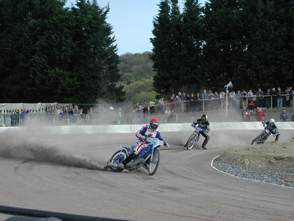 Speedway at Carmarthen Showground