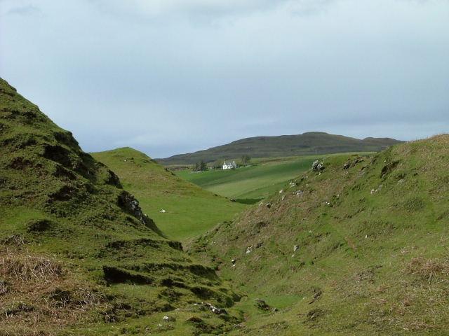 Looking towards Glenconon