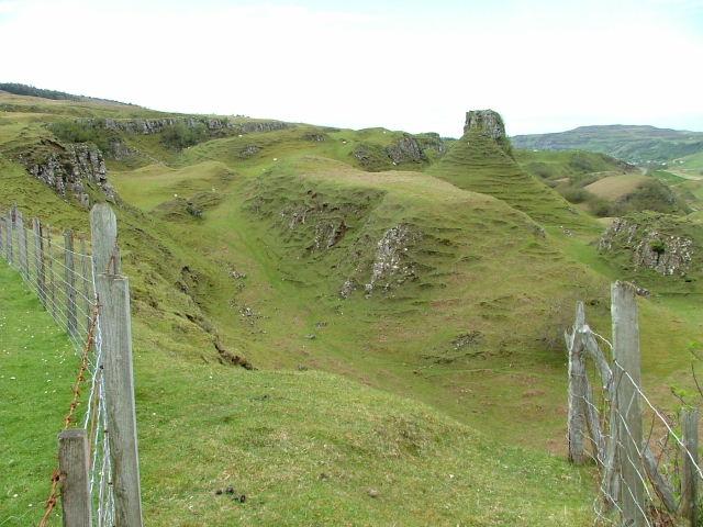 Castle Ewen from Balnaknock.