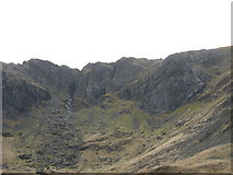 SH6358 : Clogwyn y Geifr and Devil's Kitchen by Eric Jones