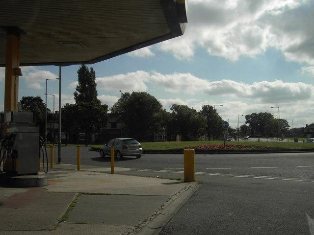 Marton Burn Road Roundabout