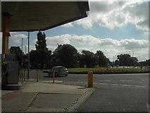 NZ4918 : Marton Burn Road Roundabout by Darren Haddock
