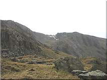 SH6459 : The Easy Route to Cwm Cneifion by Eric Jones