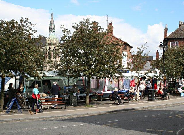 Market Day, Horncastle