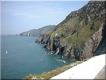 SH2082 : Cliffs North of South Stack by Darren Haddock