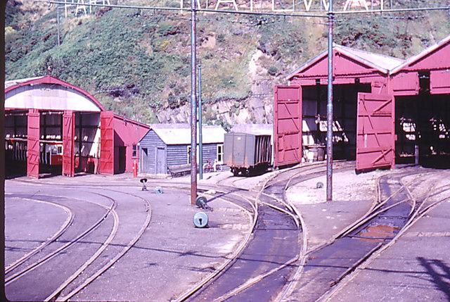 Tram shed, Onchan