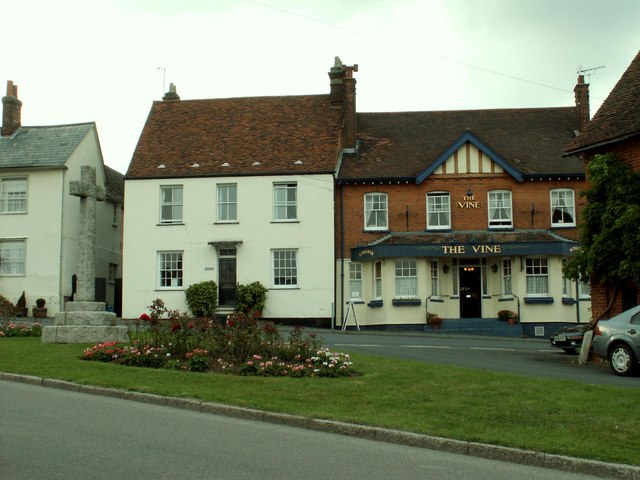 'The Vine' public house at Great Bardfield, Essex