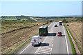 SS8521 : Knowstone: North Devon Link Road by Martin Bodman