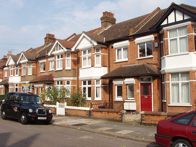Semi-detached houses, Messaline Avenue, Acton