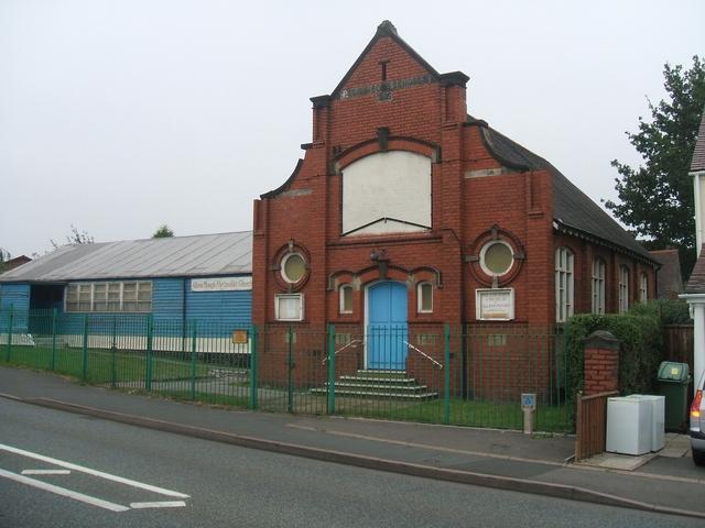 Allen's Rough Methodist Church near Essington