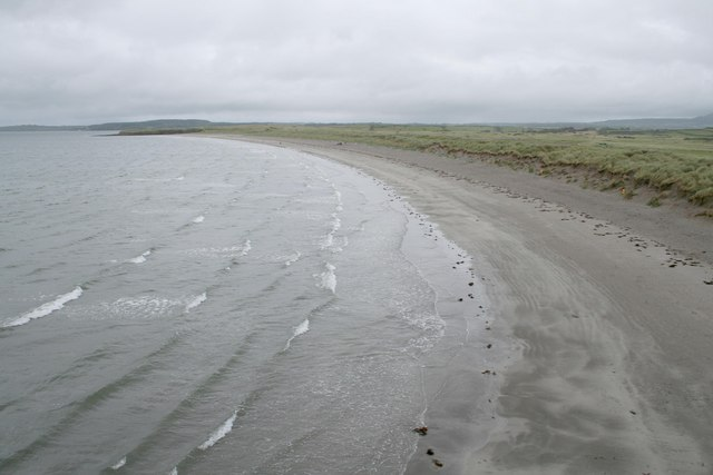 The Beach of Rosses Point from Bomore Point