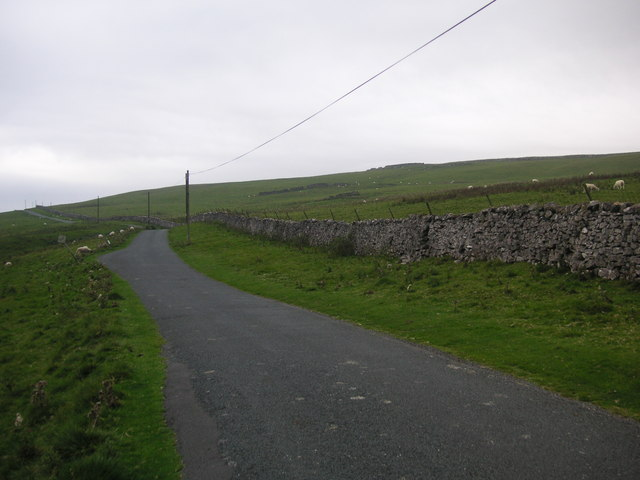 Road heading to Malham from Arncliffe