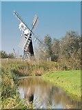 TM4599 : St Olaves wind pump by Bob Crook