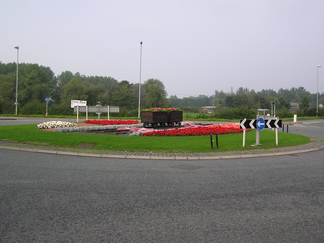 Road One Roundabout, Winsford