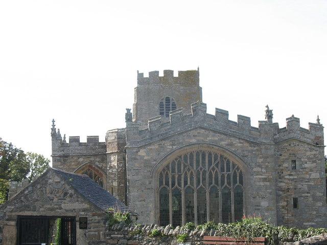 The East Window of Eglwys Beuno Sant Church