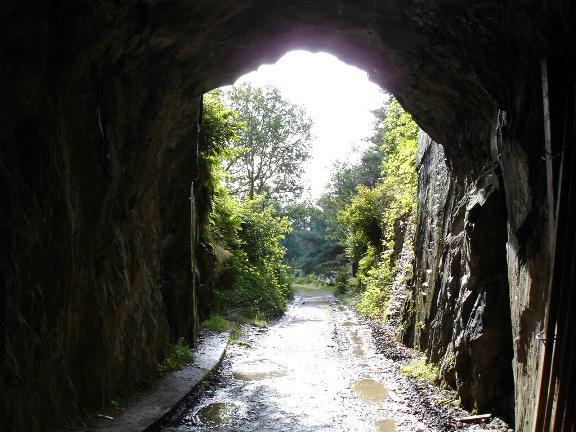 Railway tunnel near Pont Aberglaslyn