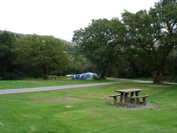 Beddgelert caravan and camp site