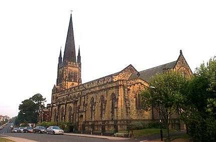 Jesmond, Holy Trinity Church.